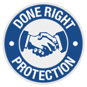 Done Right Protection Logo